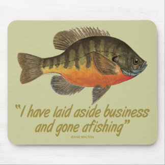 Bream Fishing Mouse Pad