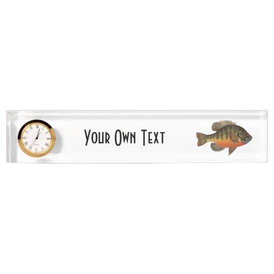 Bream Fishing Nameplate