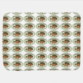 Bream Fishing Stroller Blanket