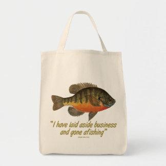 Bream Fishing Tote Bag