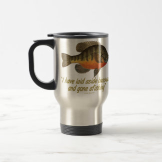 Bream Fishing Travel Mug