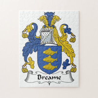 Breame Family Crest Puzzle