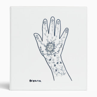 Breana Retin Vinyl Binder