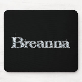 "Breanna ""Diamond Bling""  Mousepad"