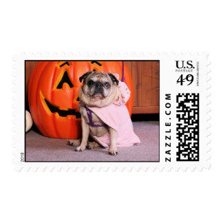 Breanna - Pug - Freeman Stamp