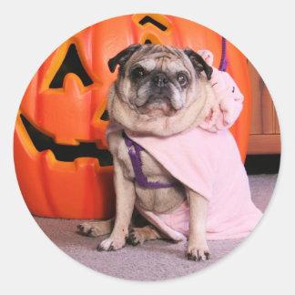 Breanna - Pug - Freeman Sticker