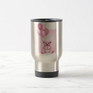 breast cancer 15 oz stainless steel travel mug