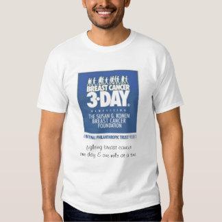 Breast Cancer 3-Day Walk T Shirts