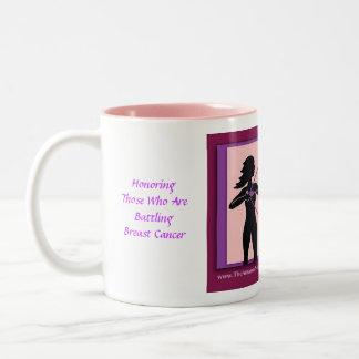 Breast Cancer Amazos Warrior Mug
