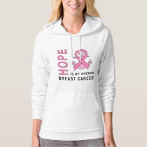 Breast Cancer Anchor of Hope Hoodie