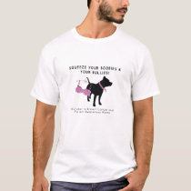 Breast Cancer and Pit Bull Awareness T-Shirt