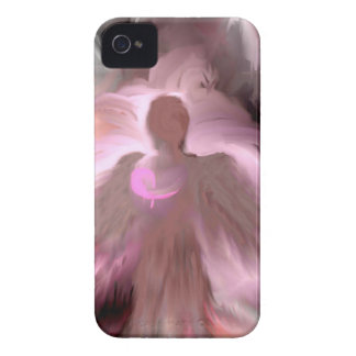 Breast Cancer Angel iPhone 4 Case-Mate Case