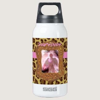 Breast Cancer Angel Survivor Insulated Water Bottle