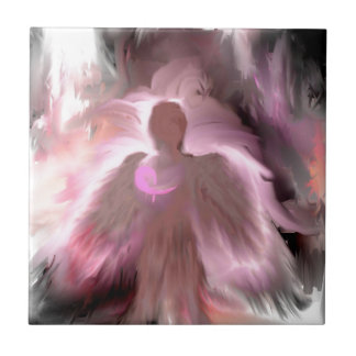 Breast Cancer Angel Tiles