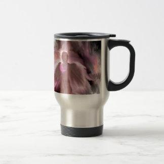 Breast Cancer Angel Travel Mug