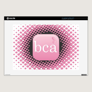 "Breast Cancer Awareness 15"" Laptop Decal"