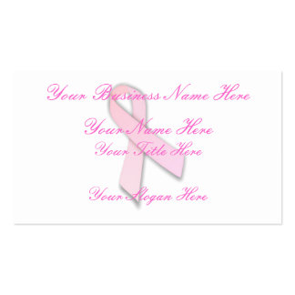 Breast Cancer Awareness (1) Business Card