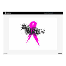 "Breast Cancer Awareness 2013 Decal For 15"" Laptop"