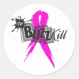 Breast Cancer Awareness 2013 Round Sticker