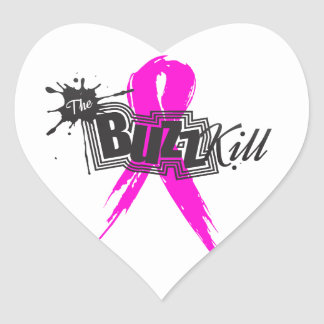 Breast Cancer Awareness 2013 Heart Stickers