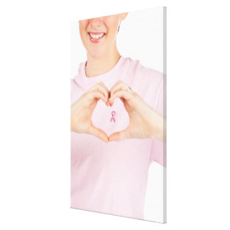 Breast Cancer Awareness 2 Stretched Canvas Prints