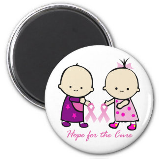 Breast Cancer Awareness 2 Inch Round Magnet
