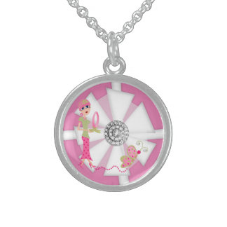 Breast Cancer Awareness #2 Necklace