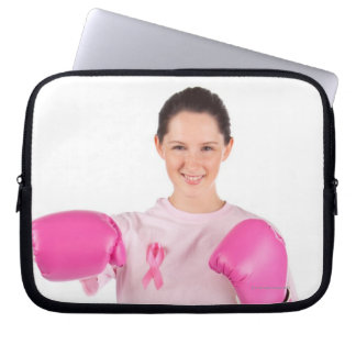 Breast Cancer Awareness 3 Computer Sleeves