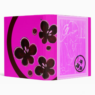 Breast Cancer Awareness 3 Ring Binder