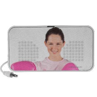Breast Cancer Awareness 3 Laptop Speakers