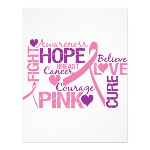 "Breast Cancer Awareness 8.5"" X 11"" Flyer"