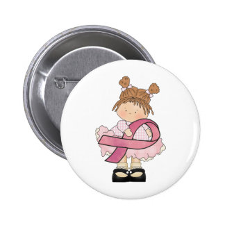 Breast Cancer awareness accessories and gifts Button
