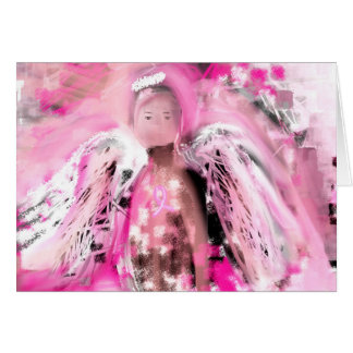 Breast Cancer Awareness Angel #2 Card