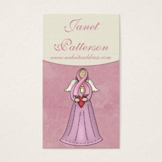 Breast Cancer Awareness Angel D1 Business Card