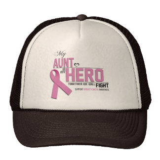 Breast Cancer Awareness: aunt Mesh Hats