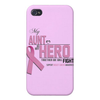 Breast Cancer Awareness: aunt Covers For iPhone 4