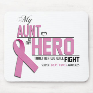 Breast Cancer Awareness: aunt Mouse Pad