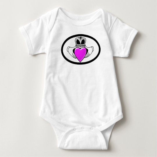 Breast Cancer Awareness Baby Bodysuit