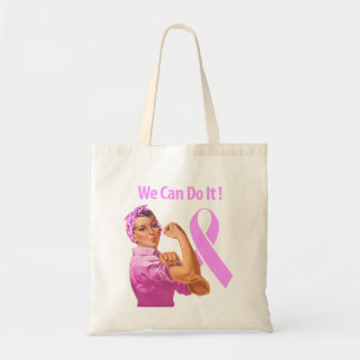 Breast Cancer Awareness Budget Tote Bag