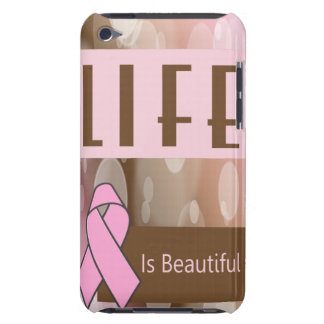 Breast Cancer Awareness Barely There iPod Cover
