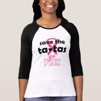 Breast Cancer Awareness  Bella 3/4 Sleeve TShirt