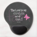 Breast Cancer Awareness Bible Verse Gel Mouse Pad