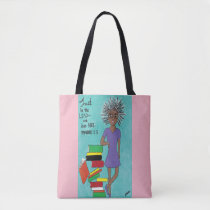 Breast Cancer Awareness Black Lean Not Tote