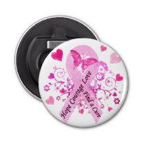 Breast Cancer Awareness Bottle Opener
