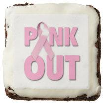 Breast Cancer Awareness Brownies