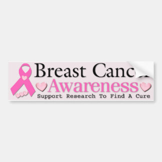 Breast Cancer Awareness Bumper Sticker