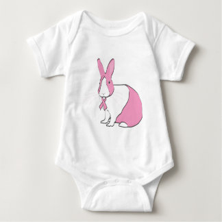 BREAST CANCER AWARENESS BUNNY T SHIRT