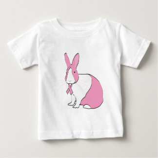 BREAST CANCER AWARENESS BUNNY T-SHIRT