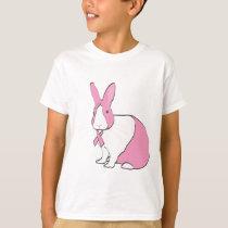 BREAST CANCER AWARENESS BUNNY T-Shirt