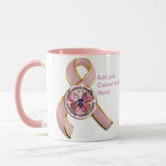 Breast Cancer Awareness Butterfly Mug